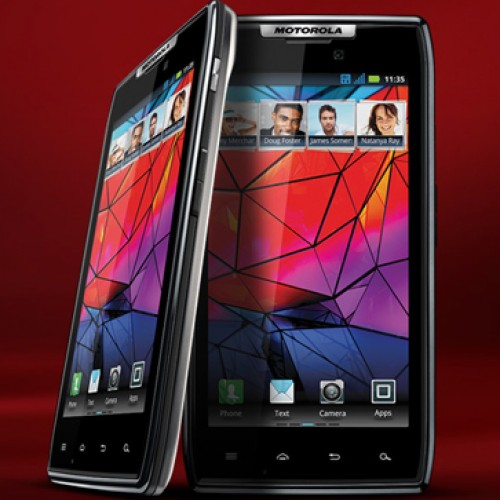 Motorola RAZR to receive ICS in early 2012