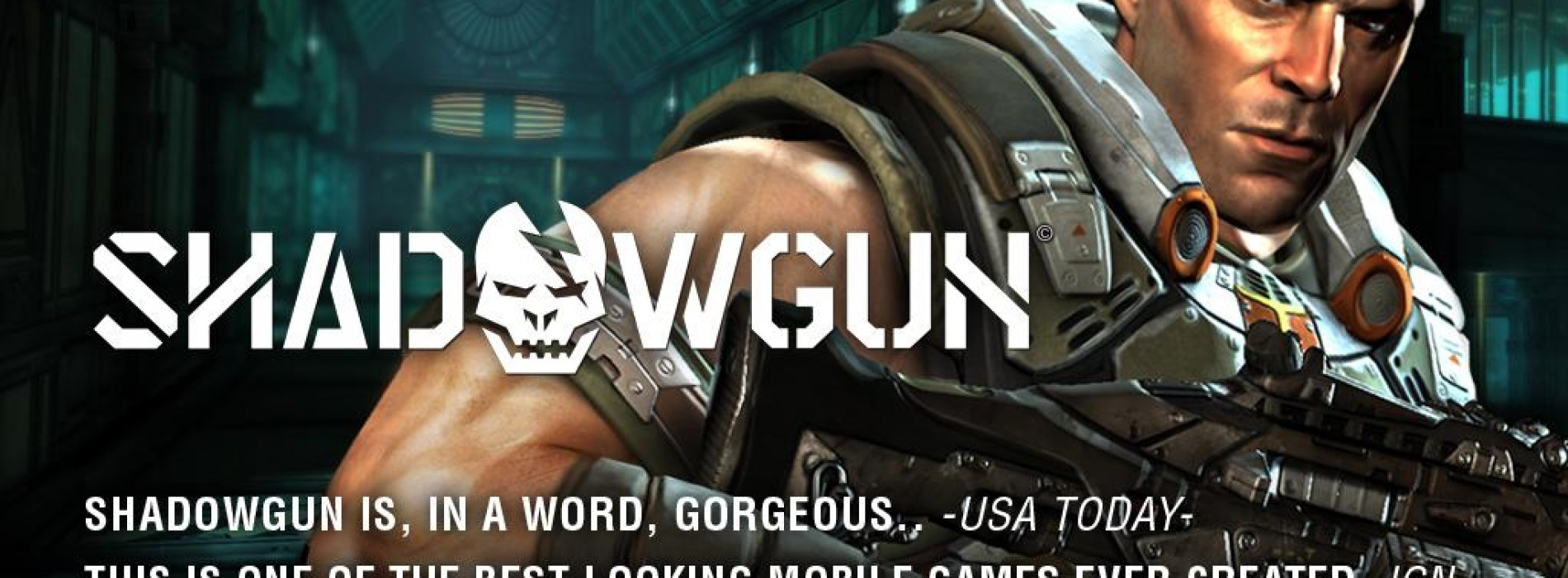 Console quality gaming hits the Android Market with SHADOWGUN by MADFINGER Games