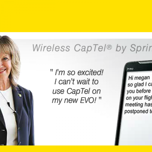 Sprint announces Wireless CapTel for hard-of-hearing Android users