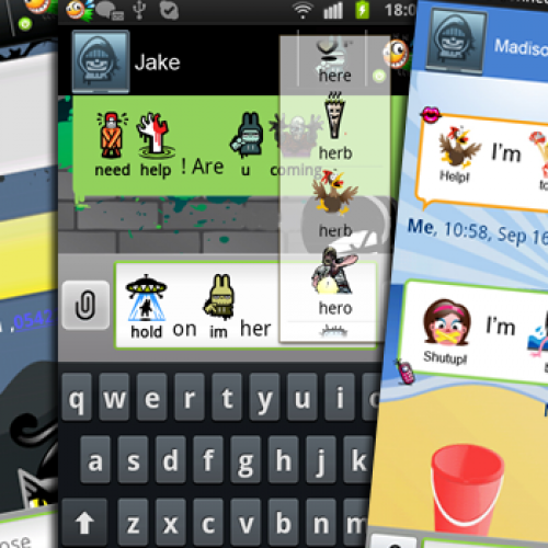 Spice Up Your Text Messaging with Zlango Themes and Icons