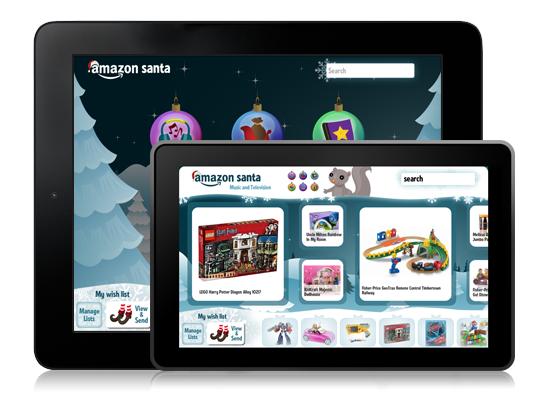 Amazon Santa App