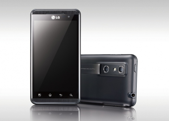LG Optimus 3D Voor En Achterkant