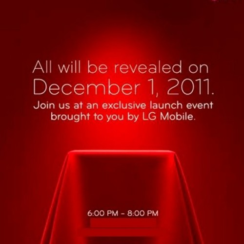 "LG Mobile set to ""reveal all"" on December 1st – most likely the LG Nitro HD"