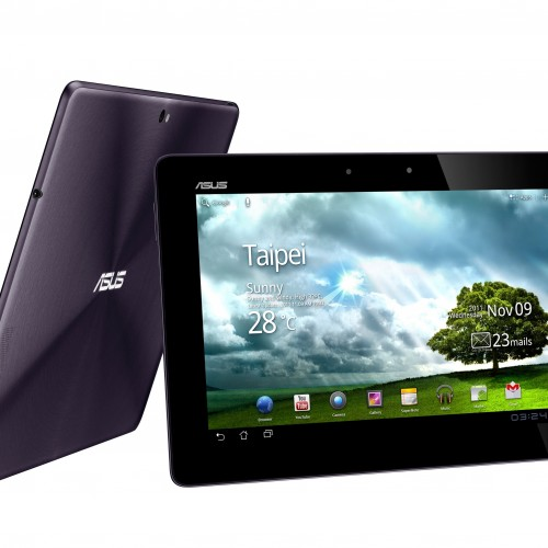 ASUS Eee Pad Transformer Prime announced! The first Quad-Core Tegra 3 device starts at $499.