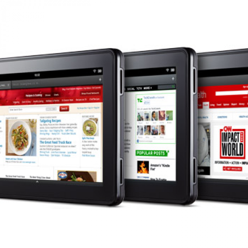 Amazon: Oh yeah, we'll have Hulu Plus on the Kindle Fire, too