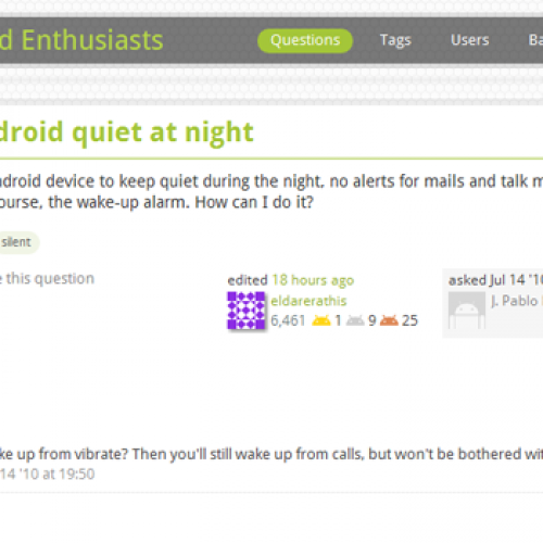 Answering your Android questions (11/02/11)