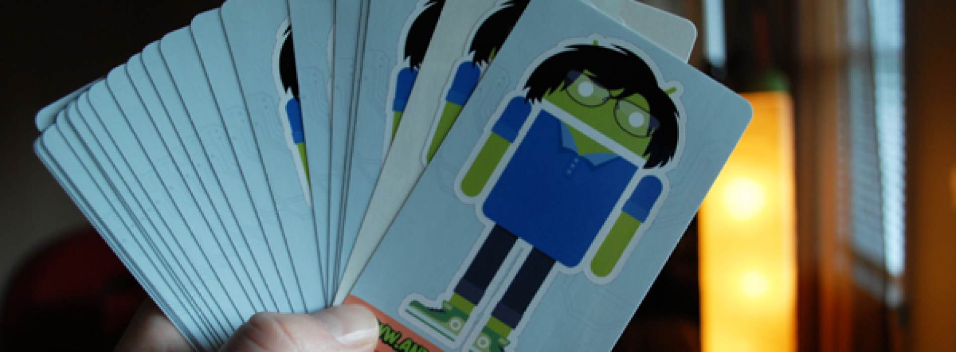 """Kickstarter project aims to create personalized """"Androidify Me"""" stickers"""