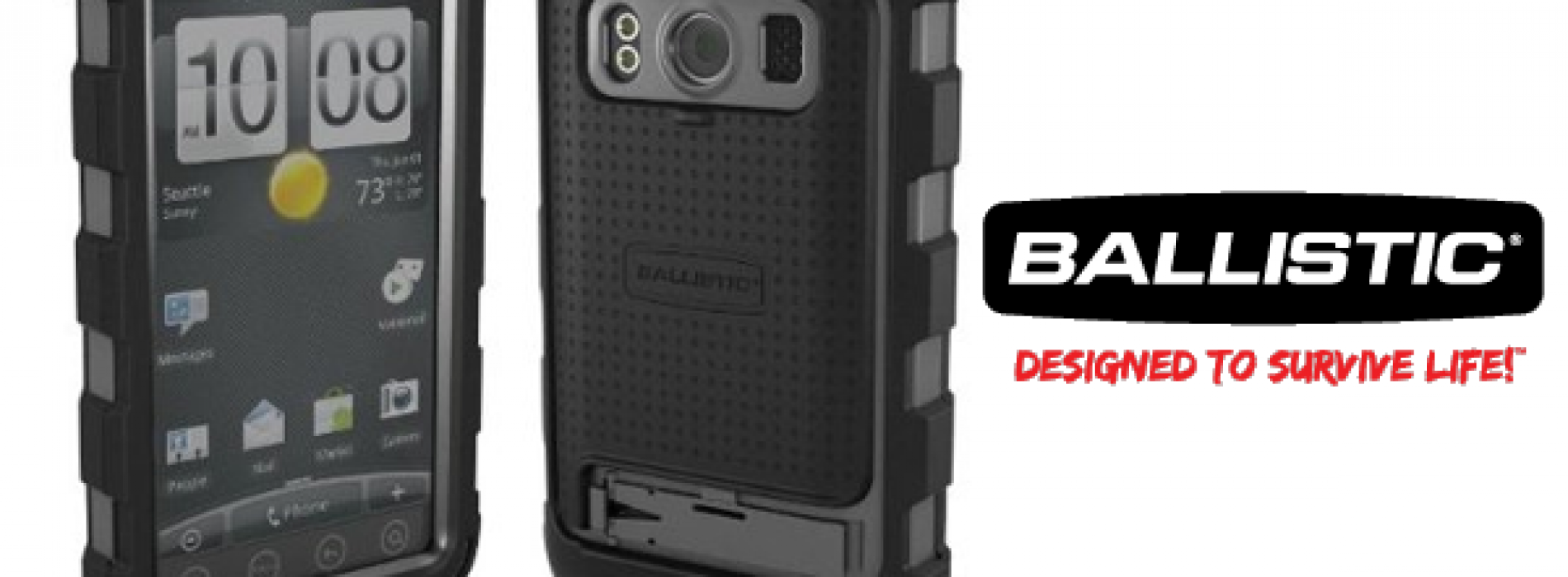 Ballistic HC protects your EVO 4G, doubles thickness in process
