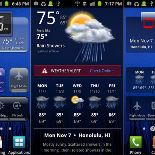 HD Widgets 2.0 brings support for more screen sizes, more widgets