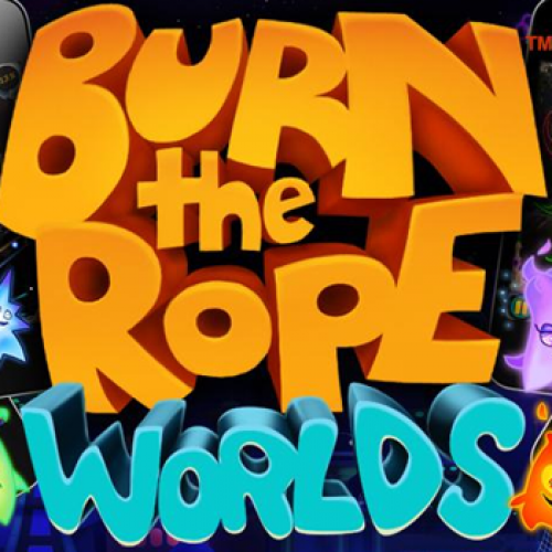 Burn the Rope Worlds arrives with 100 new levels