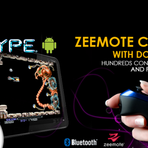R-Type Android compatible with Zeemote Bluetooth controllers – hundreds being given away