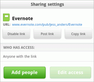 evernoteshare