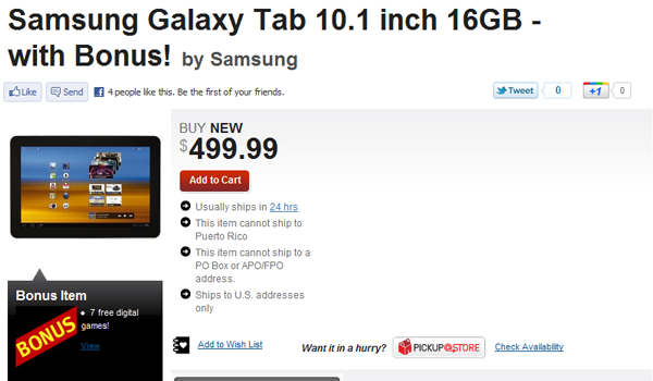 Galaxytab Gamestop