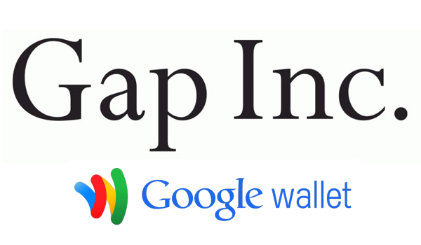 Gap Inc Google Wallet