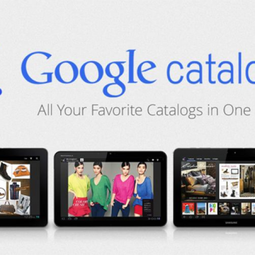 Google Catalogs finally arrives for Android tablets