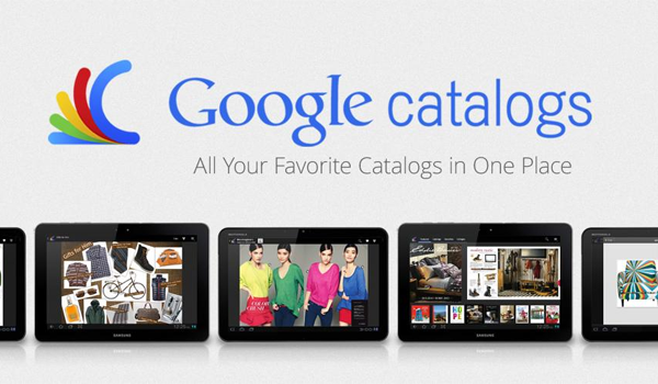 Google Catalogs Android Feature