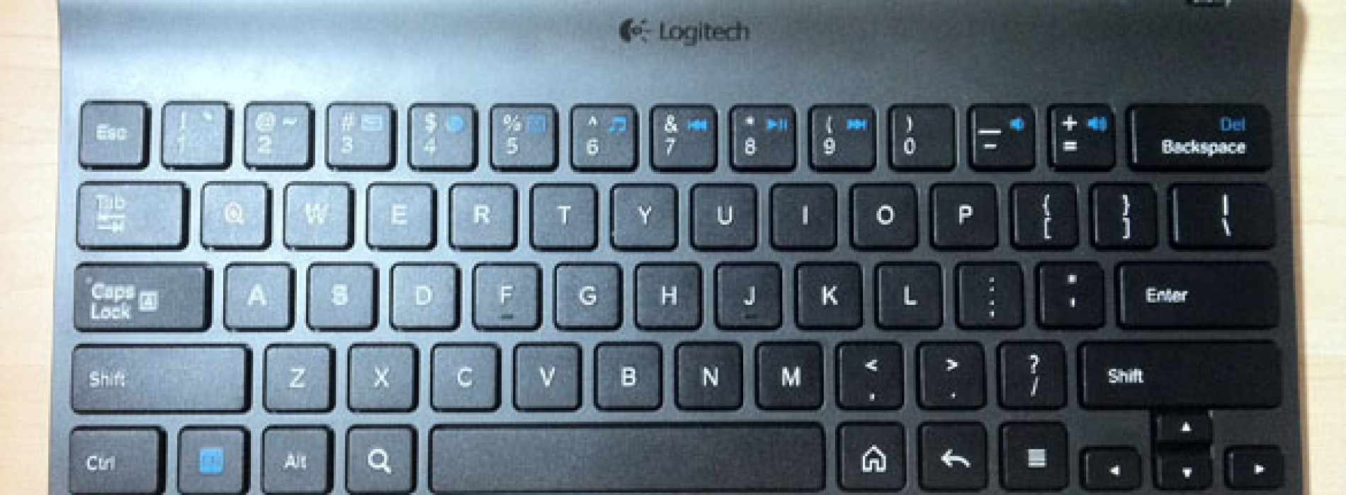 Logitech Bluetooth Keyboard for Android 3.0+ [Review]