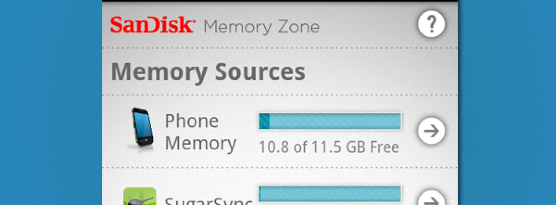 SugarSync integrates SanDisk for improved file organization