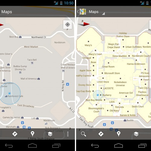 Google Maps 6.0 goes indoors with mall, airport maps, and more