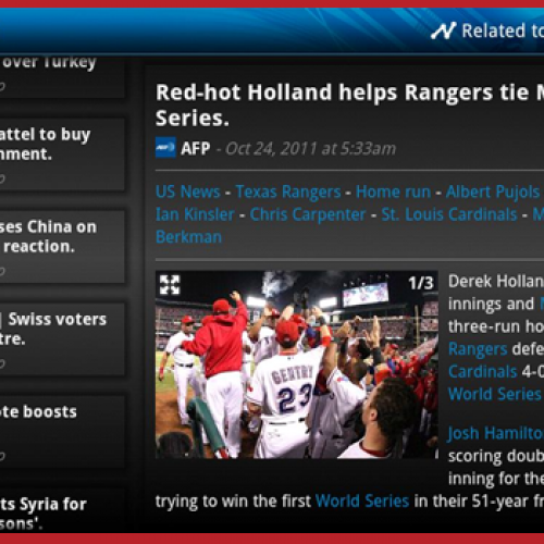 News Republic among first apps optimized for Google TV