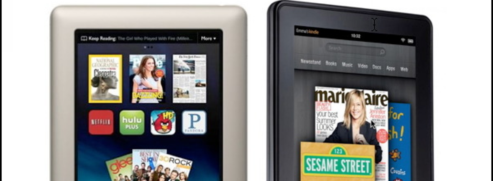 Platform Wars: A Meditation on the Amazon Kindle Fire and the B&N NOOK Tablet