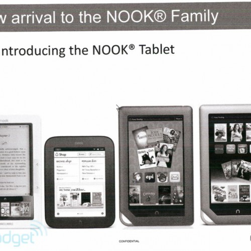 Barnes & Noble tablet rumors found in every NOOK and cranny