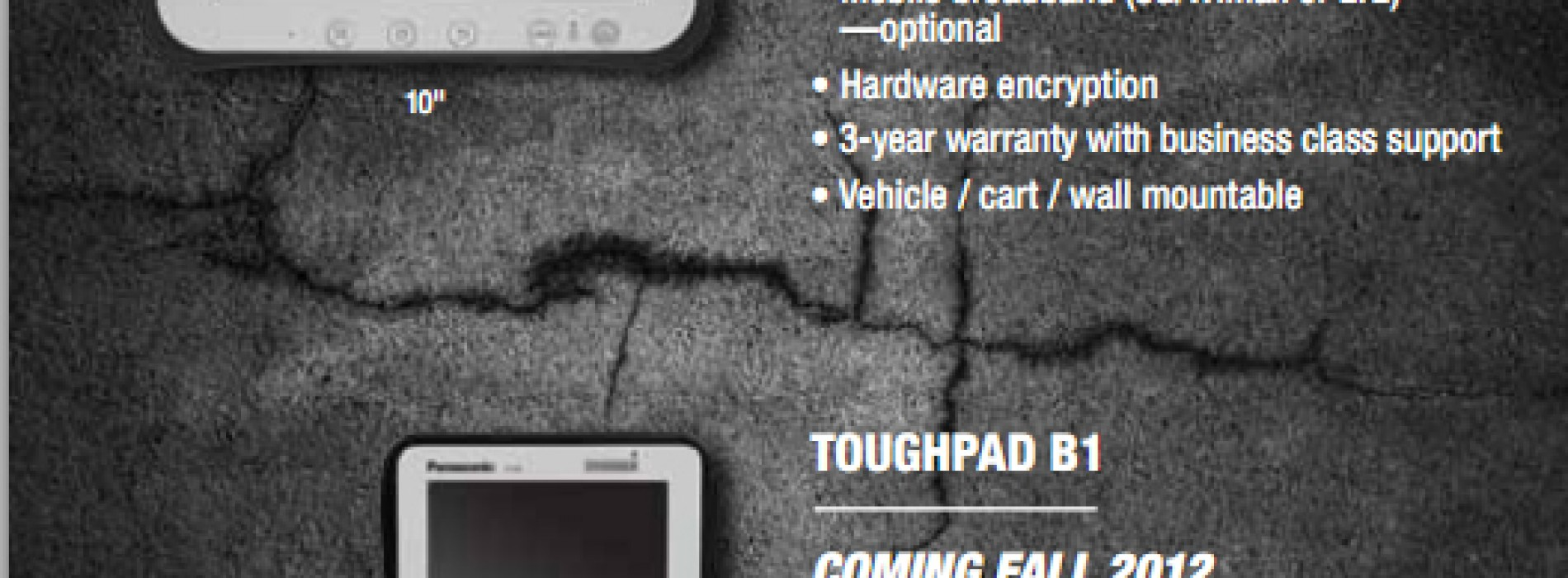 Panasonic introduces their new Android-powered ToughPad tablets, can take more beatings than Rocky Balboa