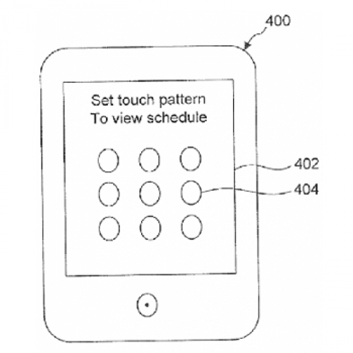 Google granted patent for Android pattern unlock