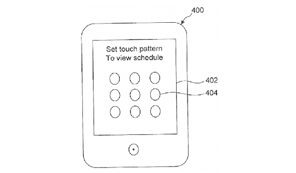 Pattern Unlock Patent Feature