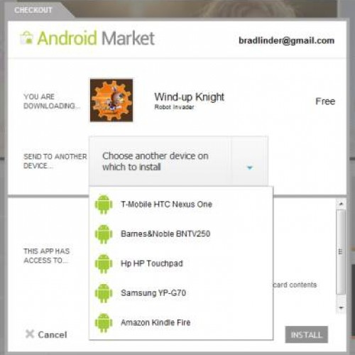 Android Web Market now recognizes those rooted devices of yours