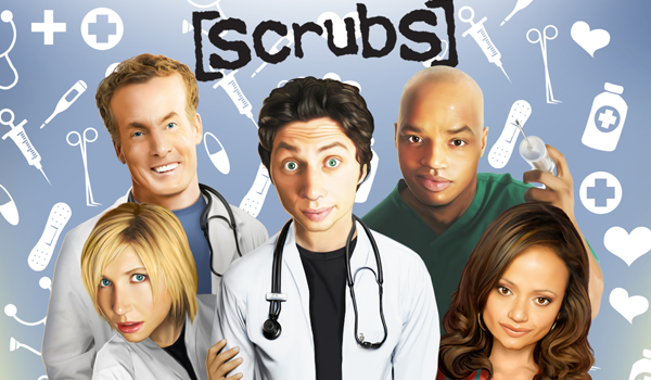 Scrubs Game Header