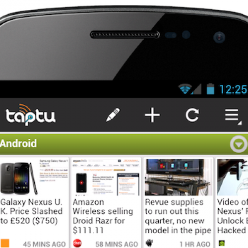 Taptu 2.0 prepares for Ice Cream Sandwich
