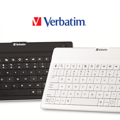 Verbatim debuts Bluetooth keyboard for Android tablets