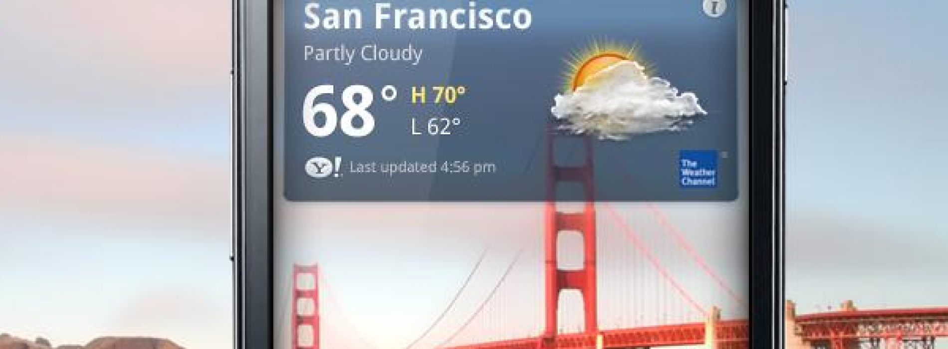 Yahoo! Weather debuts in Android Market