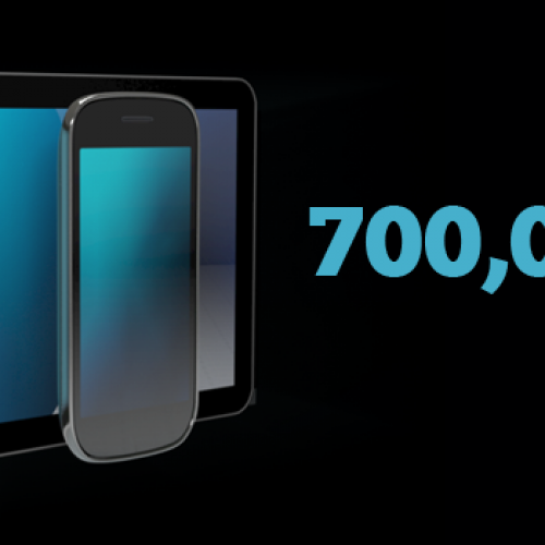 Android hits 700,000 daily activations