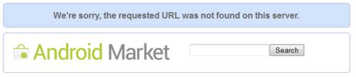 URL not found