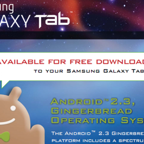 U.S. Cellular offers up Gingerbread to Galaxy Tab (7″)