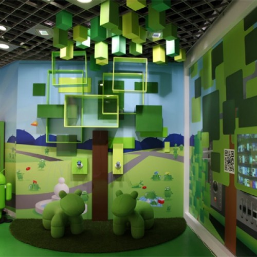 Telstra opens Androidland; becomes the Willy Wonka of Android