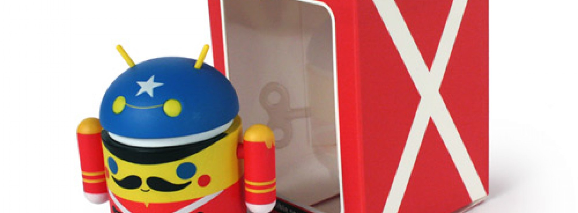 Get your special edition Android Toy Soldier from Dead Zebra this Wednesday