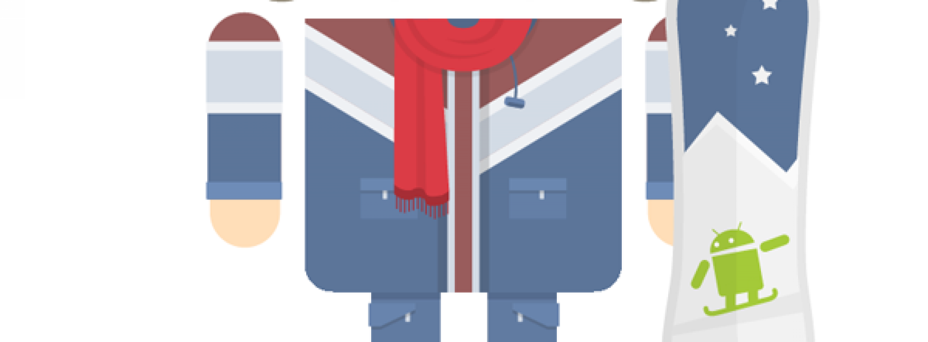 Androidwinterfy yourself with the latest Androidify update