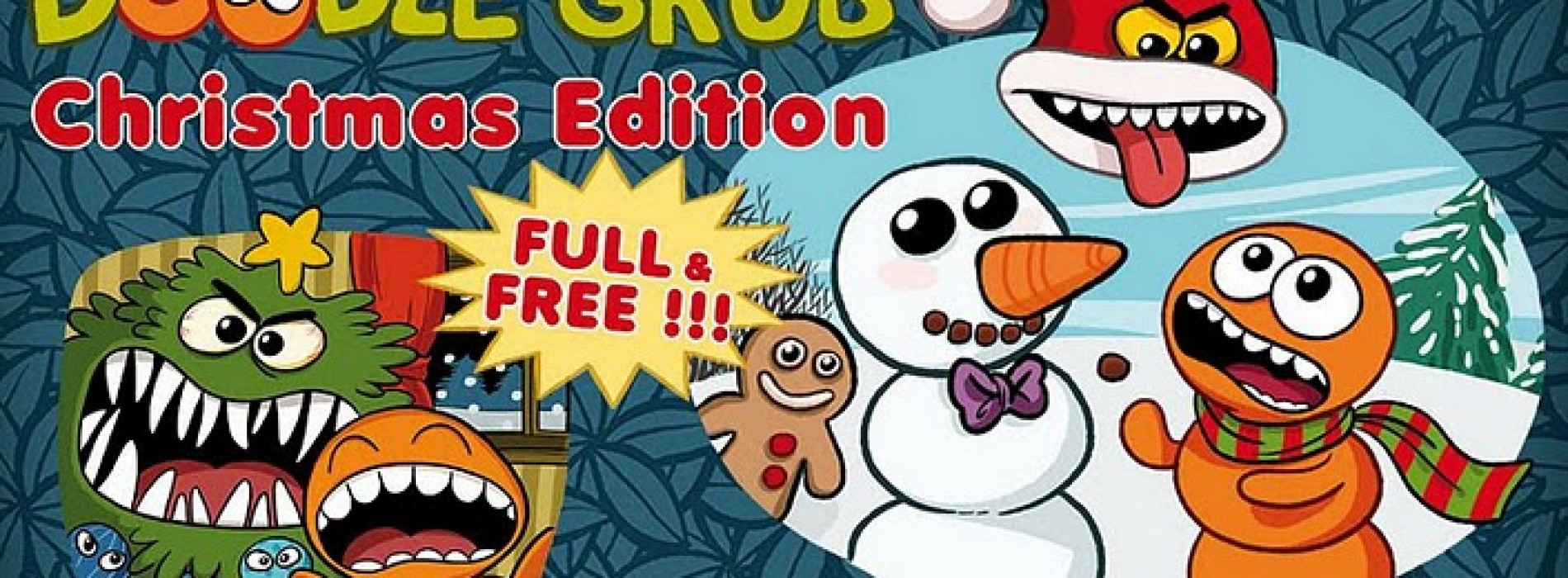 Doodle Grub Christmas Edition puts a wintry spin on classic Snakes game