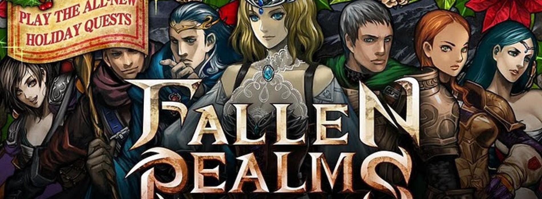 Christmas-themed update arrives for Sega's Fallen Realms