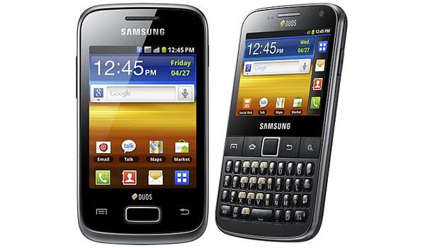 Samsung intros dual-SIM Samsung Galaxy Y Duos, Galaxy Y ...
