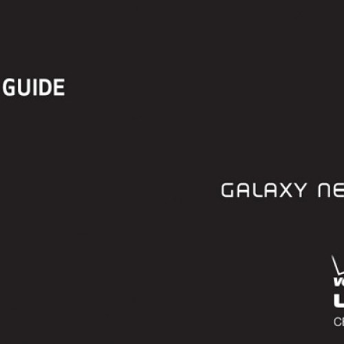 More Galaxy Nexus: Instant update, user guide, and more December 9th launch evidence