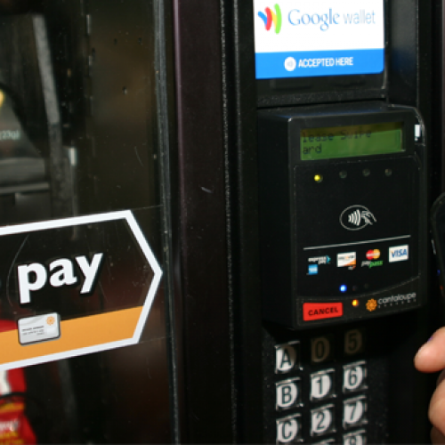 Google Wallet coming to vending machines around the country