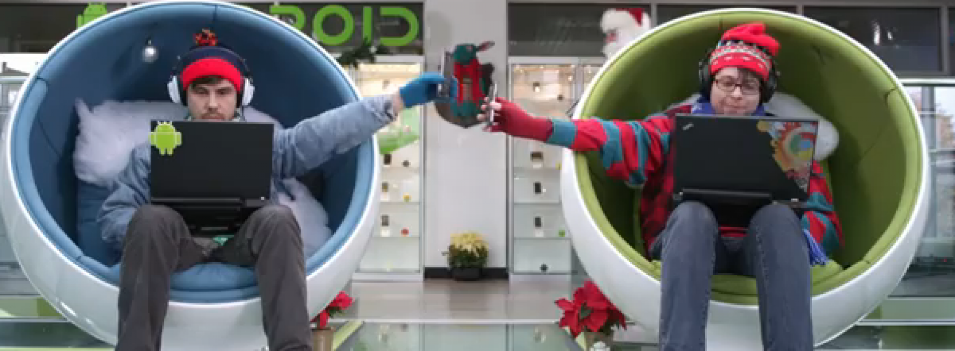 Happy Holidays – from Android [VIDEO]