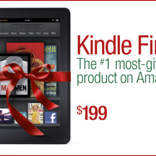 It's not too late to order a Kindle Fire for Christmas!