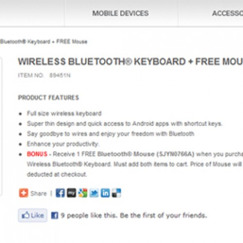 Get a wireless Bluetooth keyboard and mouse from Motorola for an amazing $39.99 [Deal Alert]