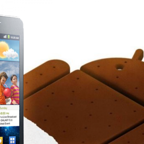 Samsung announces Android 4.0 for Galaxy line
