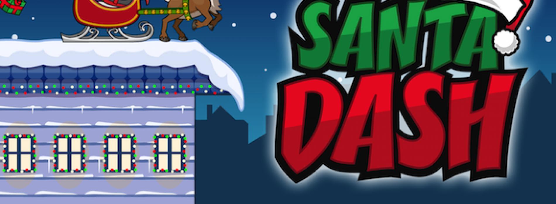 Santa Dash helps pass the time this holiday season